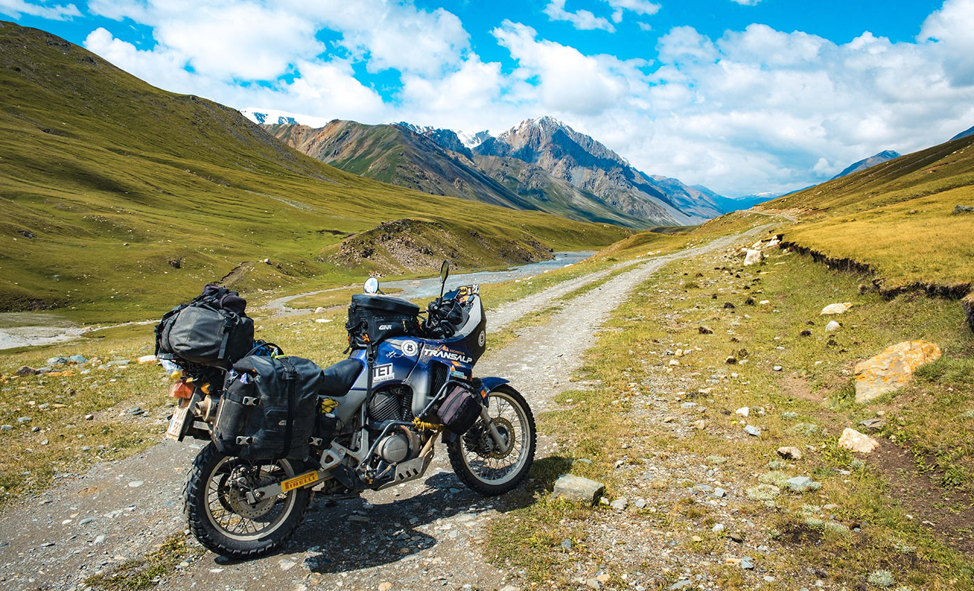 ADVENTURING+AROUND+THE+WORLD+BY+MOTORCYCLE