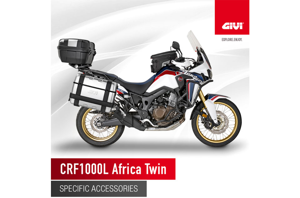 The+new+Honda+Africa+Twin+wears+GIVI%21