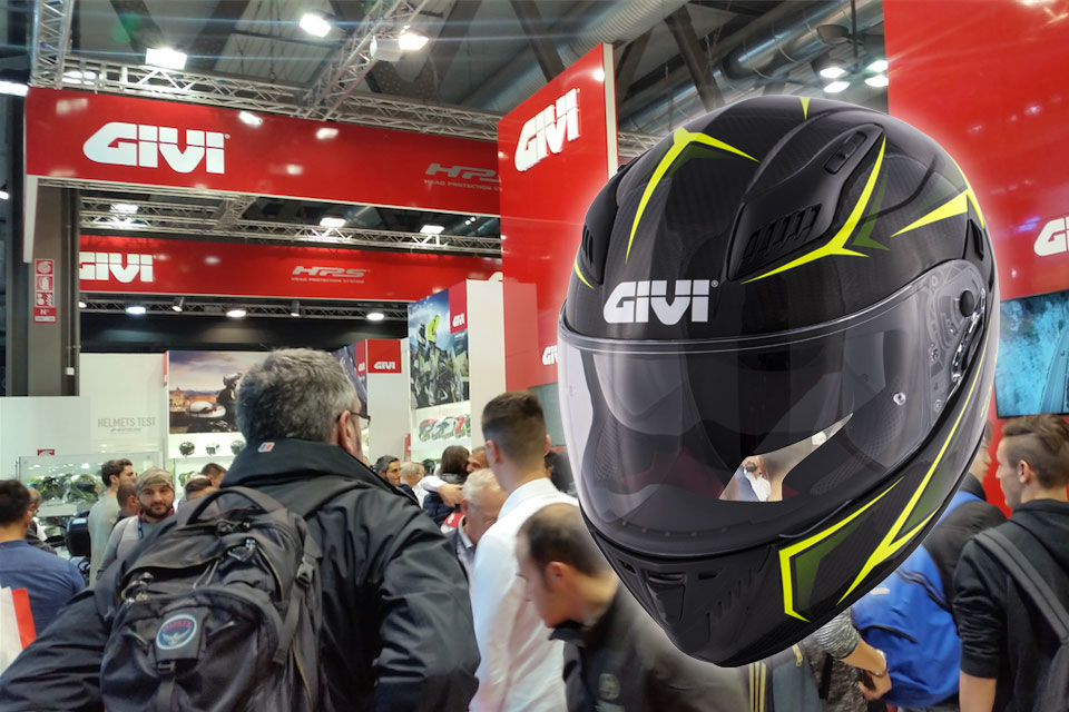 GIVI+PRESENTS+THE+FULL-FACE+HELMET+OF+THE+FUTURE+at+EICMA%21